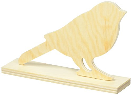Darice Table Top Unfinished Wood Bird
