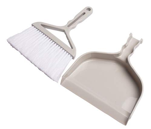 Mini Broom & Dustpan Set Brush and dustpan set for home & office (Broom & Dustpan) by G&D trading