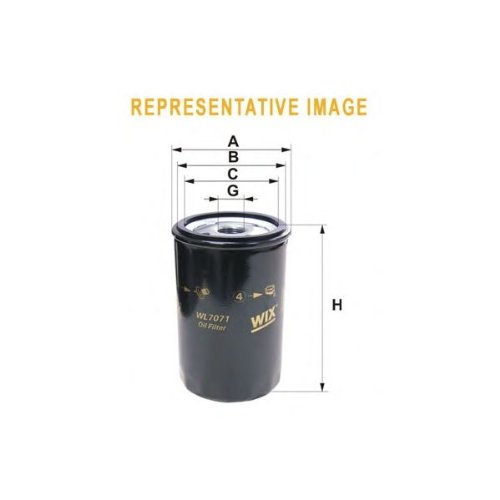 Wix Filters WL7415 Oil-Filter Element: