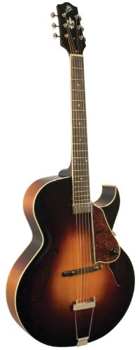 The Loar LH-350-VS Hand-Carved Archtop Cutaway Guitar, Vintage Sunburst