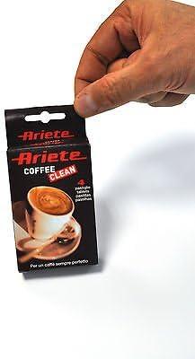 Ariete Coffee Clean - Pastillas para limpieza del filtro de la ...