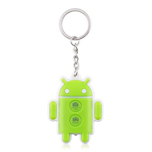 kwmobile Bluetooth Kamera Fernauslöser für iOS und Android-Geräte sowie Kompakt- und Spiegelreflexkameras - Kompatibel mit Canon, Nikon, Sony, Apple, Samsung, Huawei und vielen weiteren Geräten