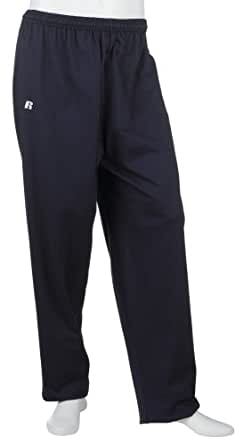 Russell Athletic Men's Athletic Open-Bottom Pant, Navy, Large