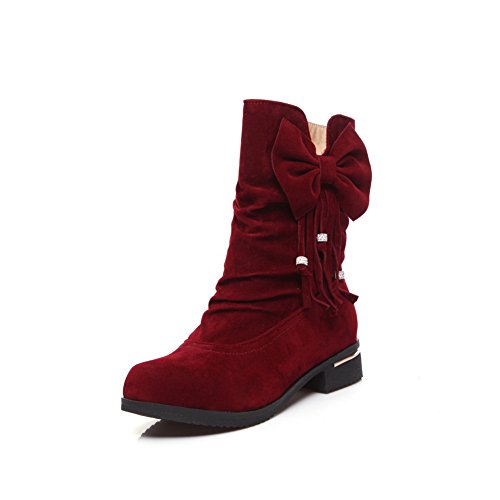 Sandales Rouge femme Plateforme BalaMasa Abl10451 bordeaux AIWTHw55Uq