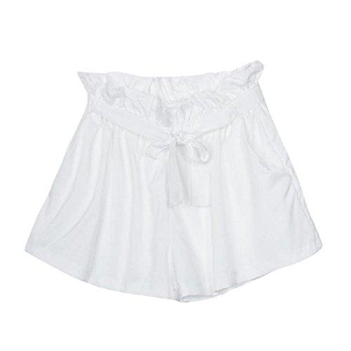 Avec Femmes Haute Ceinture Blanc OverDose Short High Shorts Fashion Taille Waist wxaxqtZ