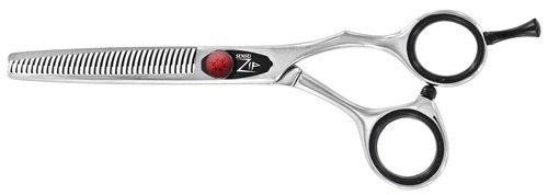 Sensei SZT40 ZIP Crane Handle 40 Tooth Salon Hair Thinner / Blending Shear by Sensei