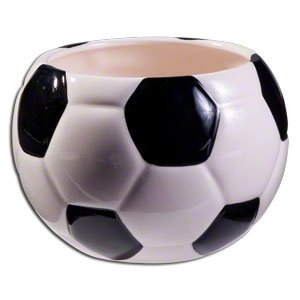 Soccer Ball Planter/Container for Home Decor,Events and Sports Enthusuast (Planter Football)