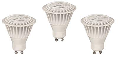 TCP RLMR167GU1030K3 LED MR16 - 35 Watt Equivalent (7W) Warm White (3000K) GU10 Base 40 Degree Spot Light Bulb - 3 Pack