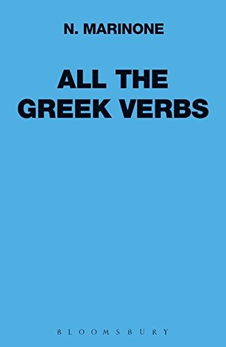All the Greek Verbs (Greek Language) by imusti