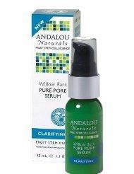 Andalou Naturals Clarifying Willow Bark Pure Pore Serum - 11