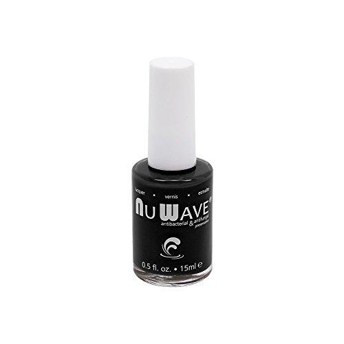 NuWave Nail Polish, Antifungal, Shiny Black, Imani, .5 Fl. Oz. Bottle, Each