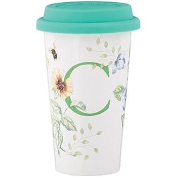 Amazon Com Lenox Butterfly Meadow Thermal Travel Mug C