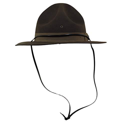 Jacobson Hat Company Adult Trooper Highway Patrol Canadian Mountie Uniform Costume Hat L/XL -