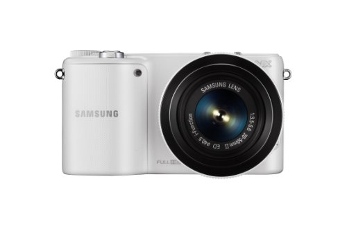 Samsung NX2000 20.3MP CMOS Smart WiFi Mirrorless Digital Camera with 20-50mm Lens and 3.7'' Touch Screen LCD (White) (Discontinued by Manufacturer) by Samsung (Image #4)