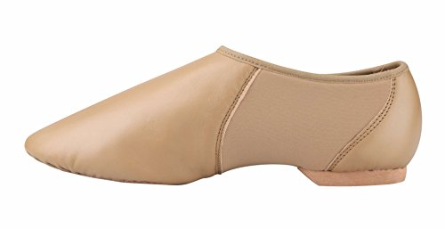 Adult Jazz Tanzschuhe Slip On Braun