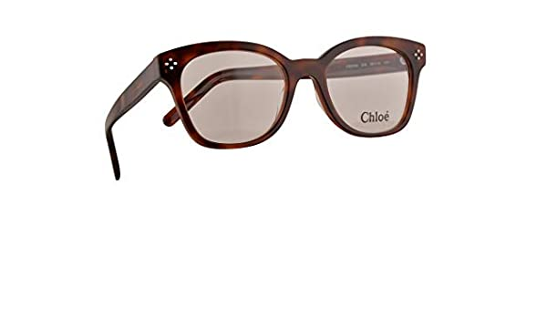 Chloe CE2703 Gafas 52-19-140 Havana Marrón Con Lentes De Muestra 218 CE 2703: Amazon.es: Ropa y accesorios