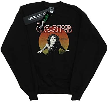 Absolute Cult The Doors Herren Morrison Circle Sweatshirt Schwarz X-Large