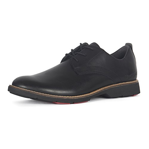 Men's Hybrid X Carbon Leather Oxford Shoes by Burnetie