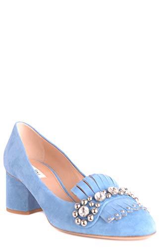 Femme Escarpins Suède Bleu MCBI495003O NINALILOU Claire BgnRdRF