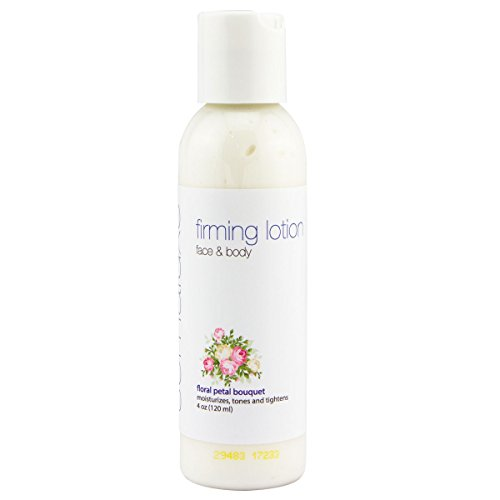 Somaluxe Organic Firming Lotion w/Collagen, CoQ10 and Vitamin C | For Face & Body | Made in the USA