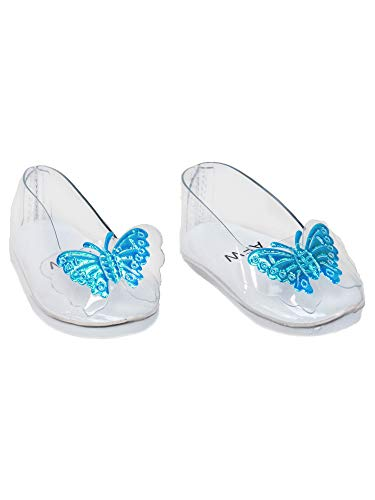 A Pair of Glass Slippers for Cinderella | Fits 18