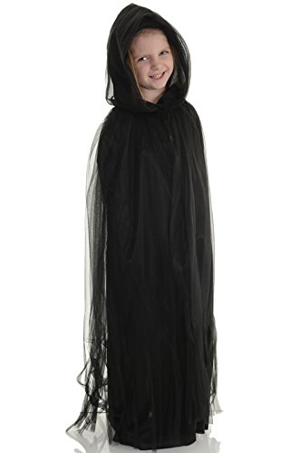 [Children's Ghost Cape Costume] (Ghost Halloween Costumes For Toddlers)