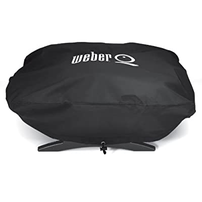 Weber 6550 Vinyl Cover for Weber Baby Q, Q-100 and Q-120 Grills