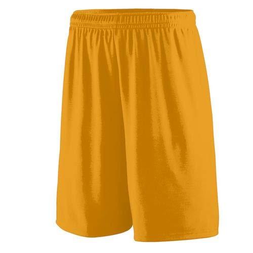 Augusta Sportswear Men's Training Short, Gold, Medium