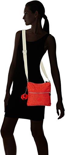 Turquoise Cool Zamor Shoulder Bag Rose Women's Coral Kipling B Pink C Turquoise 0Txwqgn