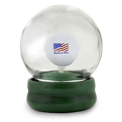 Original Golf Globe Game - Water Globe Golf-Ball-on-the-Tee Challenge