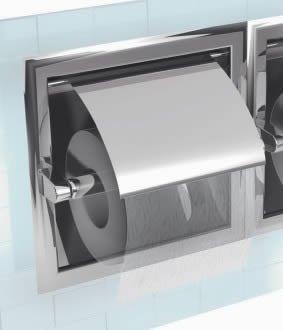 Inda Hotellerie Toilet Roll Holder Recessed Amazon Co Uk Kitchen