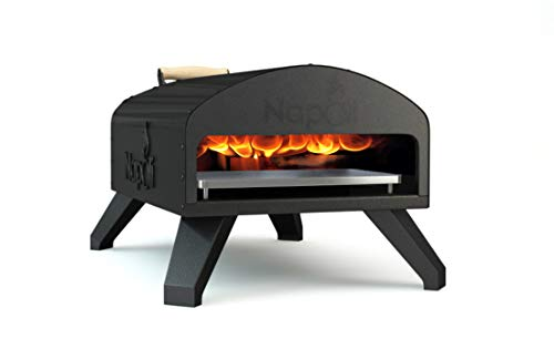 Napoli Wood Fire and Gas Outdoor Pizza Oven (Best Outdoor Wood Fired Pizza Oven)