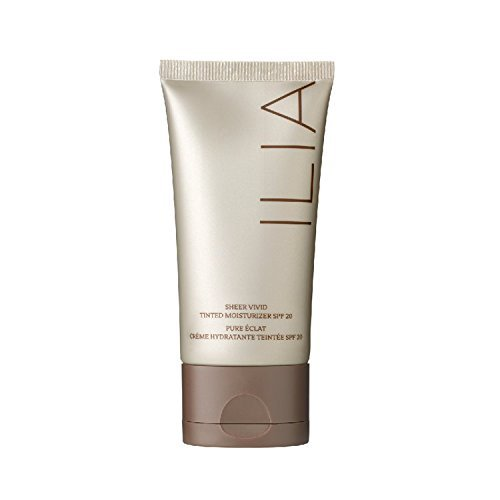 ILIA Beauty Sheer Vivid Tinted SPF 20 Ramla Bay Women's Moisturizer, 1.9 Ounce