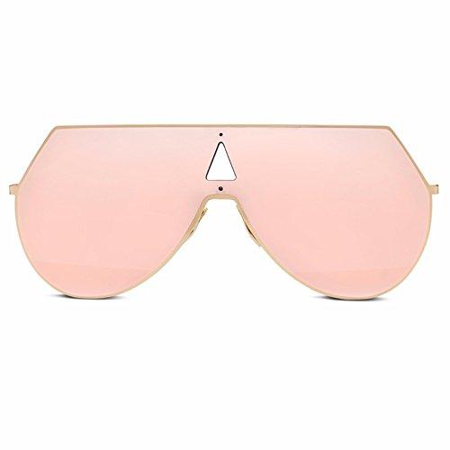 de Rosa coreana Gafas XIAOGEGE versión vínculo npc de sol La nueva Rosa cuadro marea gafas la cuadro moda AwXIA