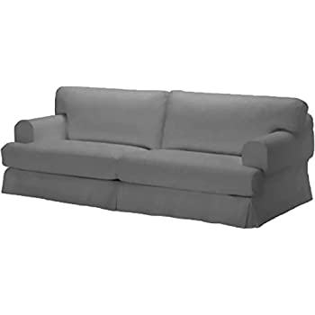 Durabale Dense Cotton Three Seat Hovas Sofa Cover Replacement Is Custom Made for Ikea Hovas 3  sc 1 st  Amazon.com & Amazon.com: Durabale Dense Cotton Three Seat Hovas Sofa Cover ...