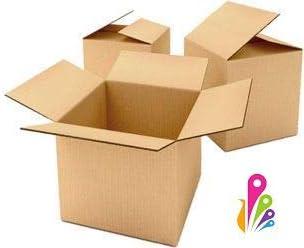 Pack de 10 cajas de cartón, cajas de embalaje, almacenamiento, mudanzas, etc. 514 x 514 x 414mm. De DOBLE CANAL reforzado, gran rigidez y resistencia.Caja de cartón ...