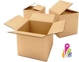Pack de 10 cajas de cartón, cajas de embalaje, almacenamiento, mudanzas, etc