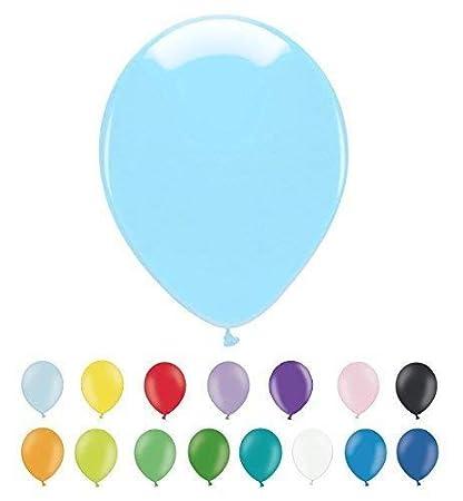 INERRA Globos - Paquete de 25 (Opciones de Color) Látex 12