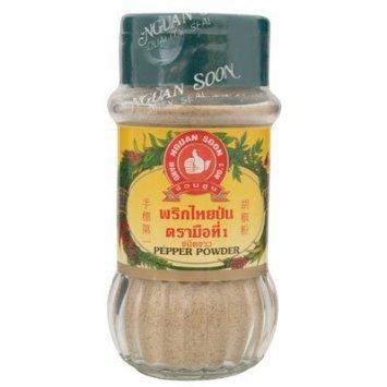 White Pepper Powder (Natural Herb Nguan Soon Hand Brand No.1) 2.11oz