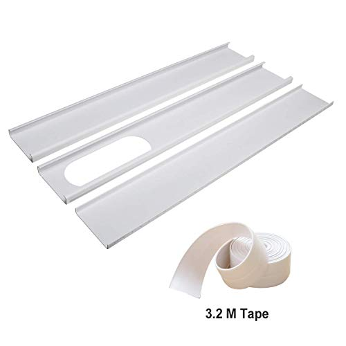 Aozzy Portable Air Conditioner Plastic Window Kit Vent Kit