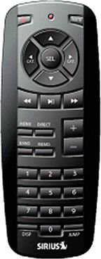 Sirius Sportster Universal Remote Control