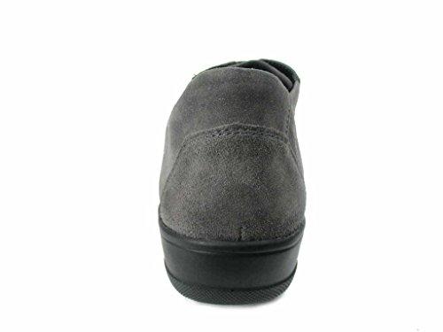 mujer 6900220177 cordones de Solidus para Zapatos gris p7wAzq4