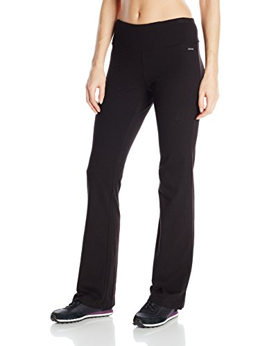 Jockey Women's Slim Bootleg Pant, Deep Black, 2X
