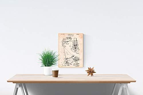Nacnic Poster de Patente de Tabla de Wind Surf. Lámina para ...