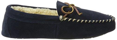 Ralph Lauren Mens Markel II, Pantofole Uomo Blu (Navy Suede)