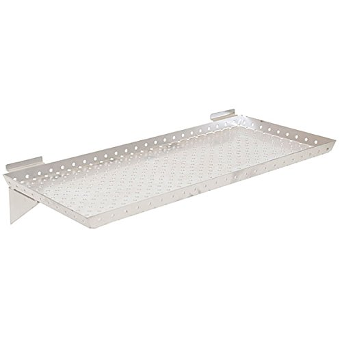 KC Store Fixtures A02021 Slatwall Shelf, 24
