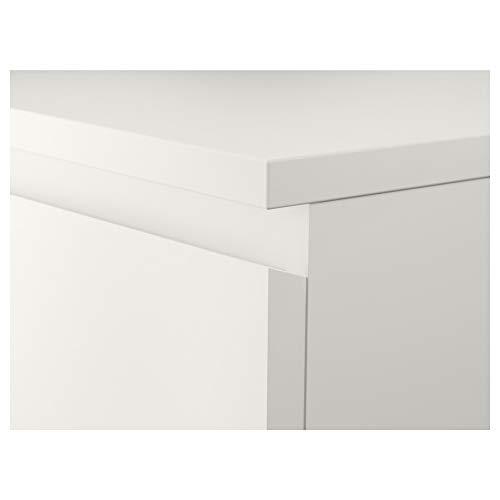IKEA ASIA MALM - Cajonera (2 cajones), Color Blanco: Amazon ...