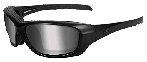 Harley-Davidson Gravity PPZ Silver Lens w/Matte Black Frame Sunglasses HDGRA07 ()