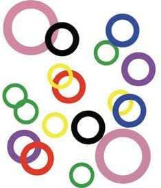 - Made In USA 2 I.D x 0.001 Plastic Color Coded Arbor Shim x 2-3//4 O.D 44855 Pack of 10
