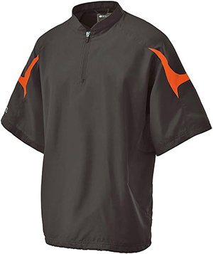 Holloway 222485 Equalizer Jacket, Black/Orange, X-Large